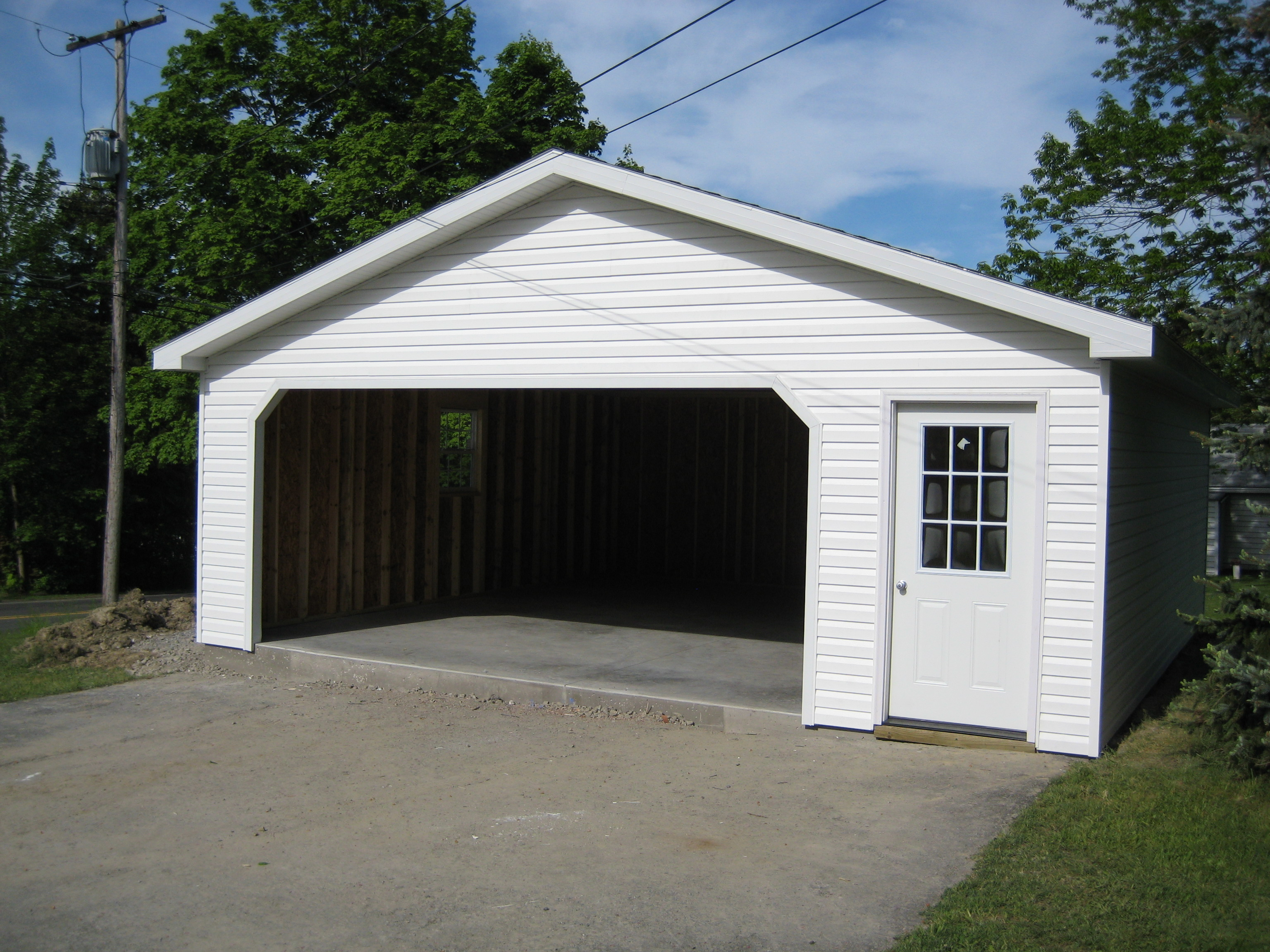 Amish Made Garage : Detached garage