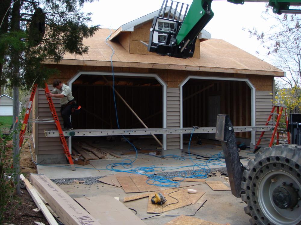 Detached Garage Built In Lancaster Pa: Oshust N.J. Detached Garage