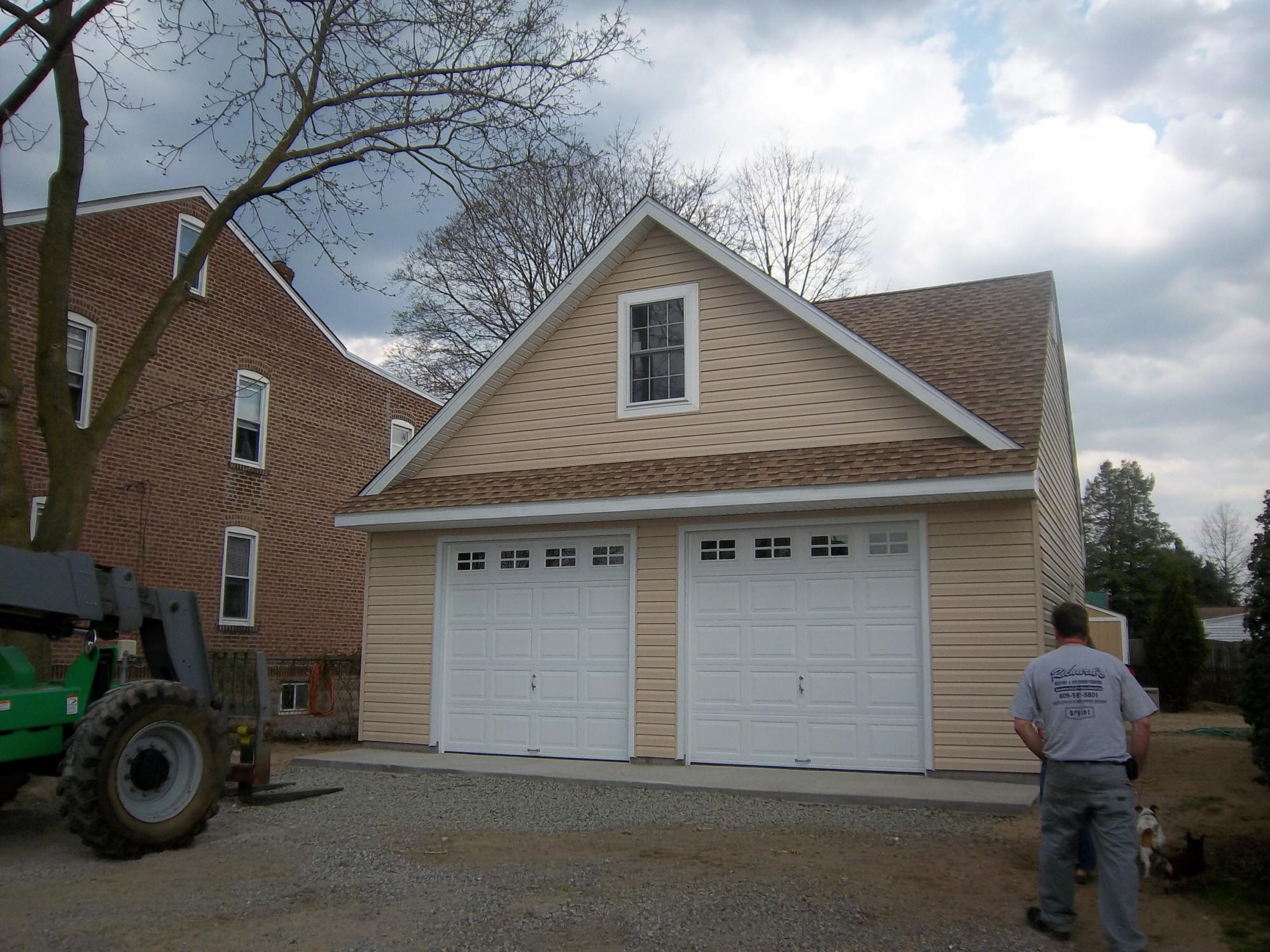 Deatched Garage 25 39 X 25 39 With Dormer Reed