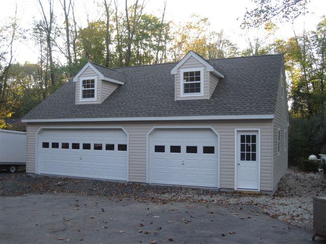 3 car garage harnack28x36 for Modular 3 car garage